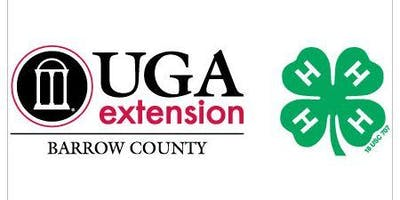 payment for Barrow County 4-H activity
