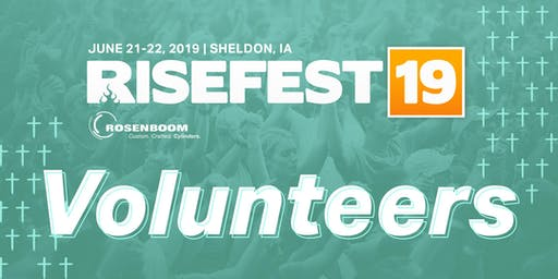 RiseFest 2019 Volunteers
