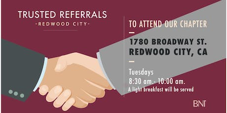 BNI Trusted Referrals - Networking Meeting tickets