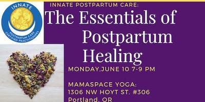 INNATE Postpartum Care: The Essentials of Postpartum Healing June 10th