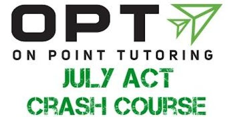 OPT July ACT Crash Course tickets