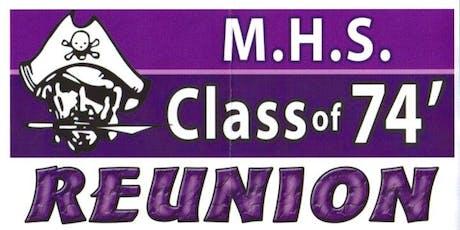 Merrillville High School Class of '74 - 45th Year Reunion tickets
