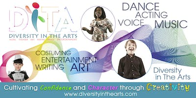 Diversity in The ARTS: Creative Arts Camp Session I