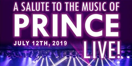 A Salute to the Music of PRINCE! LIVE! with Chase & Ovation tickets