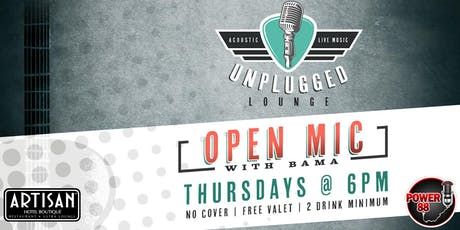Unplugged - Open Mic tickets