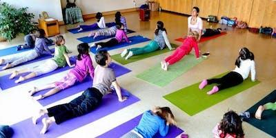 TUESDAYS Honey Heart Kids Yoga (K -2)