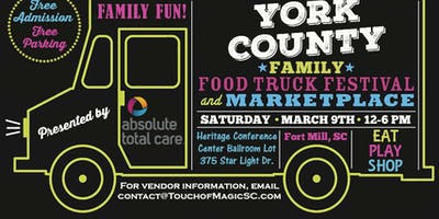 York County Family Food Truck Festival- POSTPONED DUE TO WEATHER