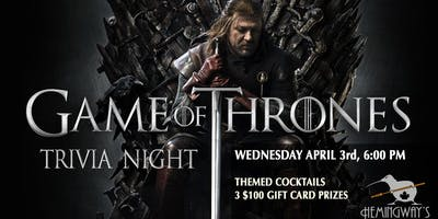 Game of Thrones Trivia 2.2 (second night)
