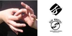 Weekly Sign Language (ASL) Interpreted Worship Service