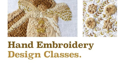 Hand Embroidery Design Class