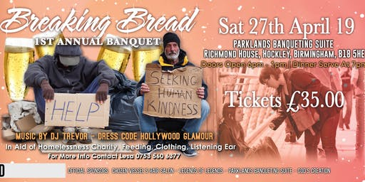 Breaking Bread 1St Annual Banquet