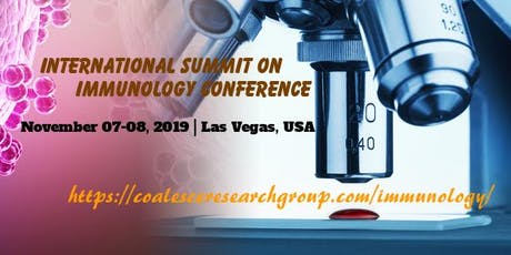 International Summit on Immunology Conference tickets
