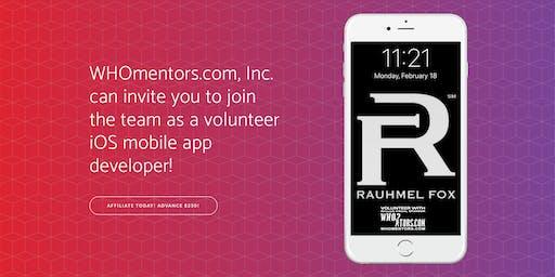 Volunteer iOS mobile app dev for 501(c)(3) organization (Training Session)