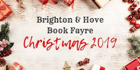 Brighton & Hove Christmas Book Fayre 2019 tickets