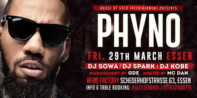 PHYNO LIVE IN CONCERT