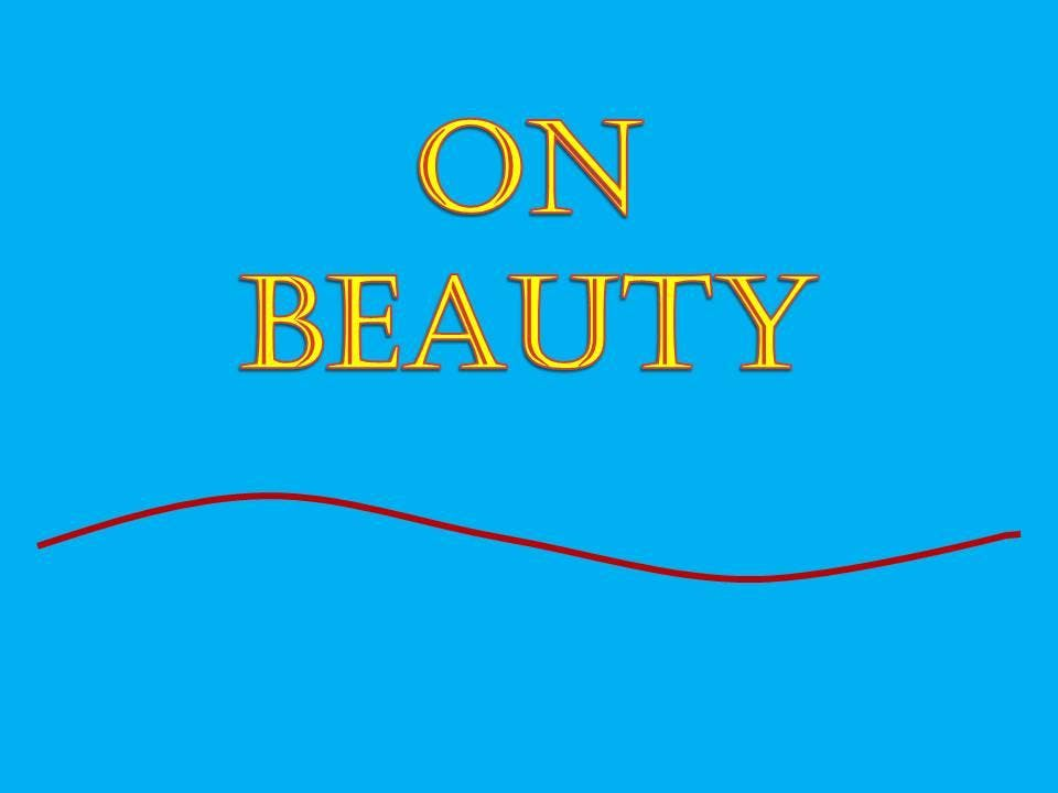 On Beauty - A talk by Kevin Trickett MBE