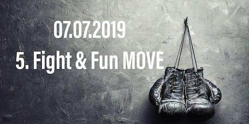Die 5. Fight, Fitness & Fun MOVE mit Leo, Steven, Christina