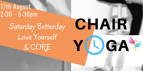 CHAIR YOGA - SATURDAY BETTERDAY tickets