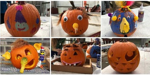Pumpkin Decorating & Carving