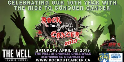 2019 ROCK THE $#@! OUT OF CANCER CONCERT AT CHANCES CHILLIWACK
