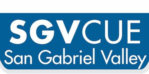 SGVCUE 2019 Innovation Celebration Exhibitor/Vendor