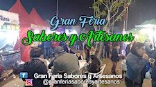 """""""GRAN FERIA SABORES Y ARTESANOS"""" logo"""