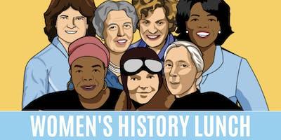 Inaugural Women's History Lunch - Honoring Georgia's Hidden Figures