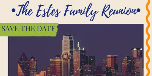 Estes Family Reunion Save The Date