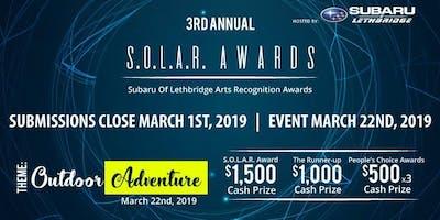 3rd Annual S.O.L.A.R. AWARDS w/ Subaru of Lethbridge