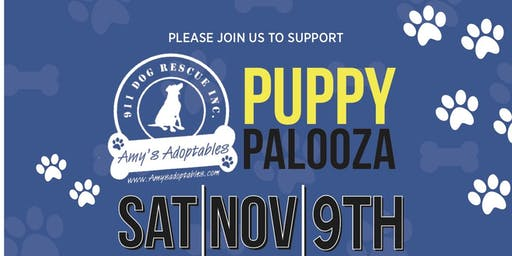 911 Dog Rescue Inc. Puppy Palooza 2019