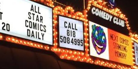 SATURDAY LATE ALL STAR COMEDY  tickets