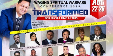 Waging Spiritual Warfare Conference 2019 tickets