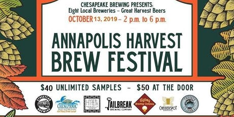 Annapolis Harvest Brew Fest October 13, 2019 tickets