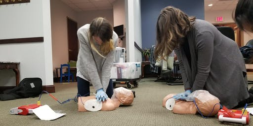CPR/AED & Basic First Aid Course  Tuesday/Wednesday Evening