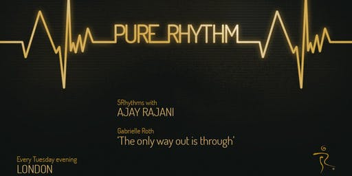 5Rhythms® Weekly Class with Ajay Rajani - Pure Rhythm