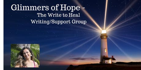Glimmers of Hope -  The Write to Heal Process (Online) tickets