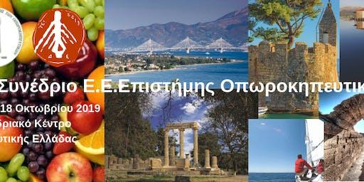29ο ΣΥΝΕΔΡΙΟ ΕΕΕΟ ΠΑΤΡΑ 15-18 ΟΚΤΩΒΡΙΟΥ 2019