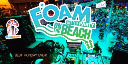 """Foam Wet Fete Carnival on the Beach """"Miami Carnival Last Lap"""""""