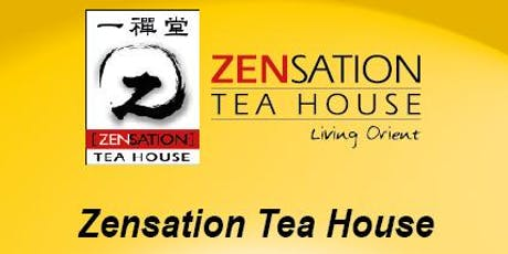 Zensation Tea House Tea Appreciation tickets