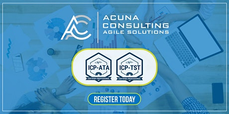Agile Testing Bootcamp- ICAgilte Testing and Test Automation (ICP-TST & ICP-ATA) tickets