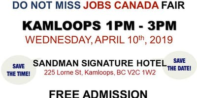 Free: Kamloops Job Fair – April 10th, 2019