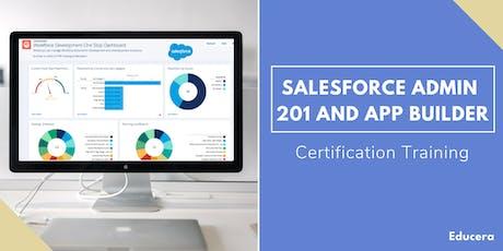 Salesforce Admin 201 and App Builder Certification Training in Burlington, VT tickets