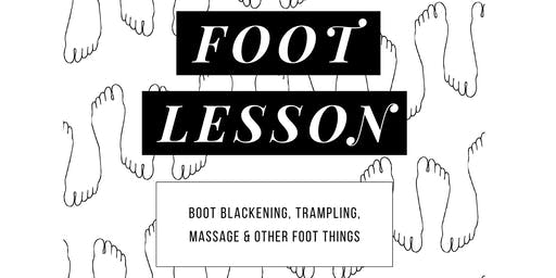 Taillor Foot Lesson — BDSM & Fetish