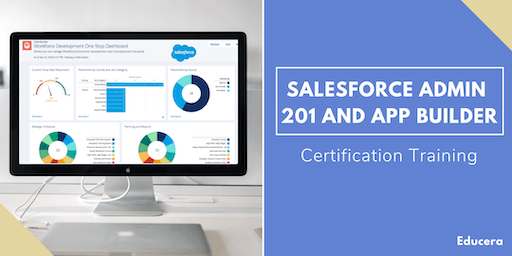 Salesforce Admin 201 and App Builder Certification Training in Jamestown, NY