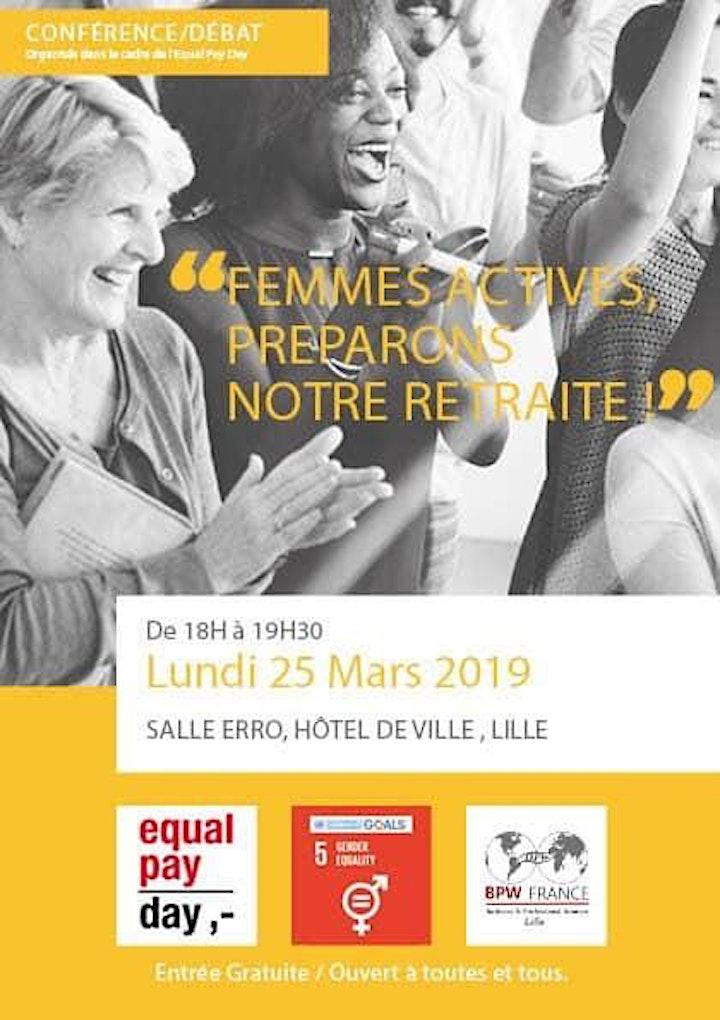 Image pour Equal pay day  - Femmes actives préparons notre retraite