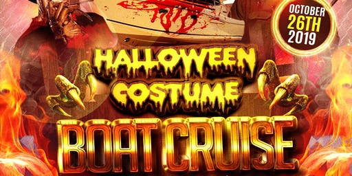 Halloween Costume Boat Cruise & Dinner [ ALL INCLUSIVE ] ADULTS ONLY