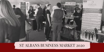 ST ALBANS BUSINESS MARKET - SPONSORED BY VICKY\