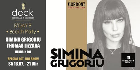 Deck B'DAY 9 mit Simina Grigoriu & Thomas Lizzara Tickets