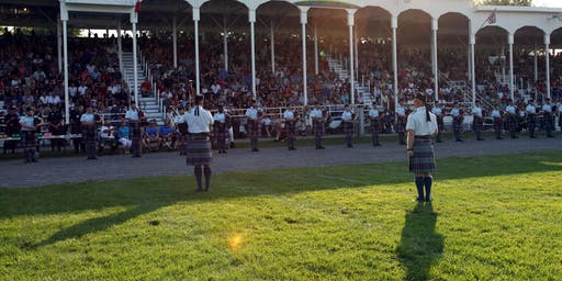 Glengarry Highland Games - Grandstand (Saturday, August 3, 2019)