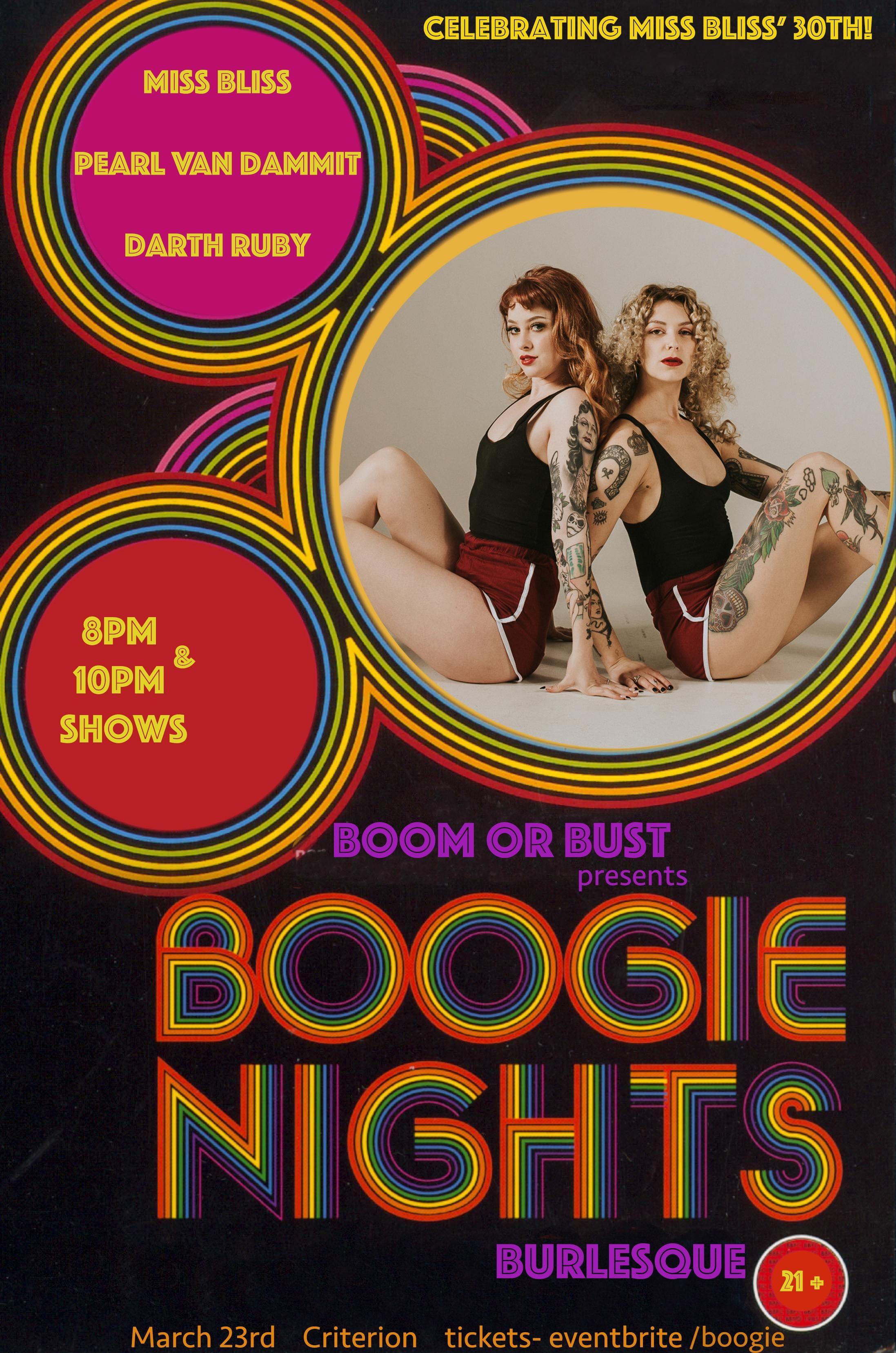 Boogie Nights Burlesque